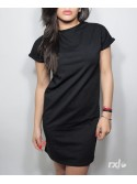 RXL Paris - Women Long Shirt Oversize in Black