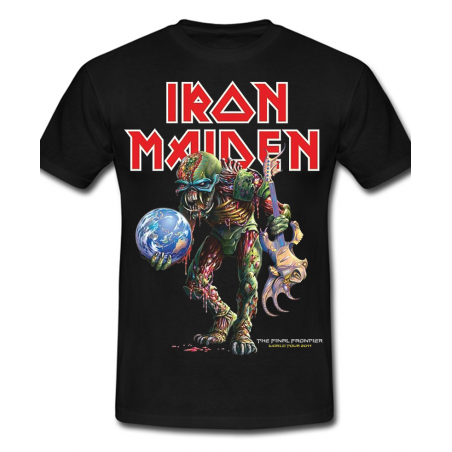 Iron Maiden - Tshirt Iron Maiden The Final Frontier Noir
