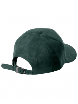 DS|LINE - Trucker Strapback Suede Green Petrole / Silver
