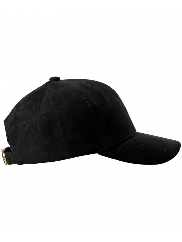 DS|LINE - Trucker Strapback Black Suede / Gold