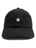 RXL Paris - Puff Puff Pastel Dad Hat in Black/Pink