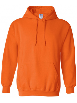 Sweat Capuche Orange - Gildan Heavy Blend