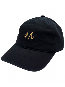 Casquette Majin Vegeta Dragon Ball Z Noir/Or