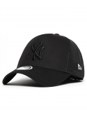 New Era Trucker MLB New York Noir/Noir