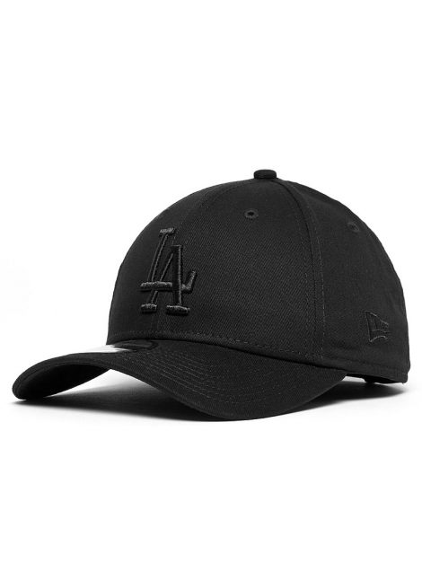 New Era 9Forty League Essential Los Angeles Dodgers Noir/Noir