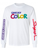 RXL Paris GameBoy Color Long Sleeve T-Shirt White