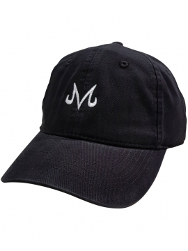Dad Hat Majin Vegeta Dragon Ball Z Black/White