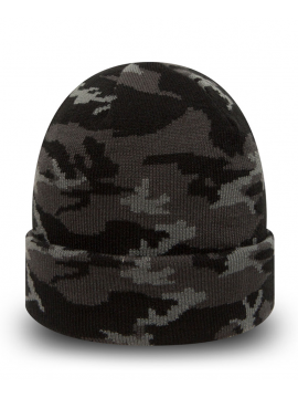 New Era Camo Cuff Black/Grey