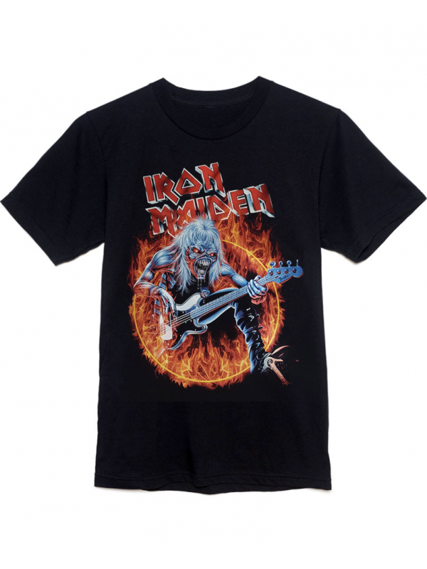 Iron Maiden T-Shirt Fear Of The Dark Noir