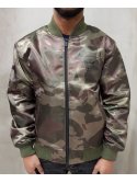 New Era Chicago Bulls Sateen Bomber Camo