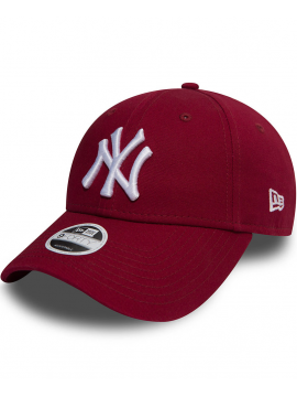 New Era 9Forty Women League Essential New York Yankees Cardinal Red