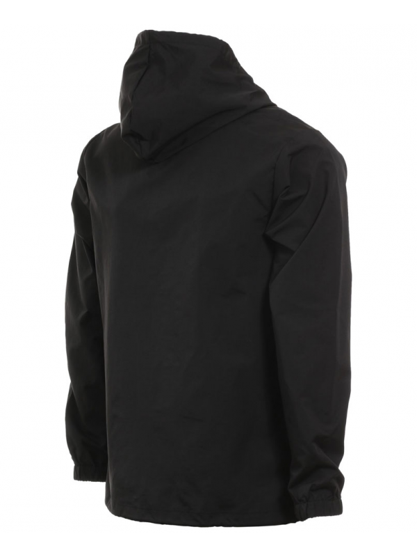 Thrasher Flame Mag Hooded Coach Jacket Black