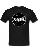 RXL Paris NASA Space Agency Black Logo T-Shirt Black