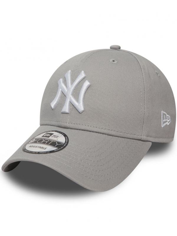 New Era - 9Forty Adjustable NY in Grey