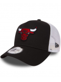 New Era Adjustable Chicago Bulls Team Essential Trucker Black
