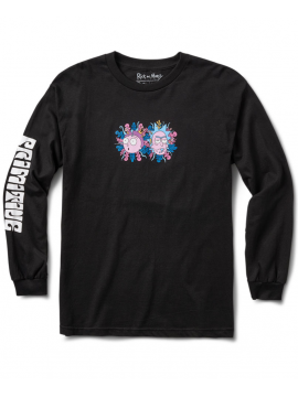 Primitive Dirty P R&M LS Tee Black