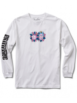 Primitive Dirty P R&M LS Tee White