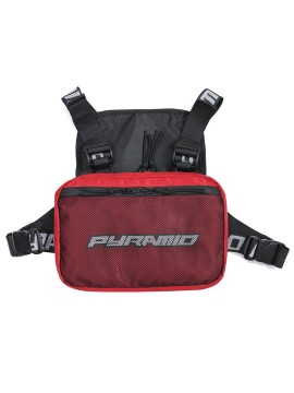Black Pyramid Chest Rig Red