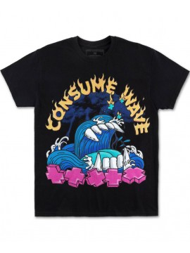 Pink Dolphin Consume Tee Black
