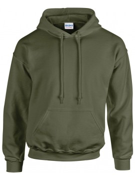 Gildan Heavy Blend Hooded Khaki