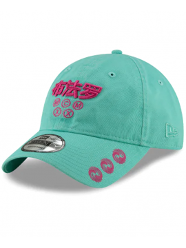 Casquette New Era 9Twenty Hard East Asia Injection Pack Turquoise