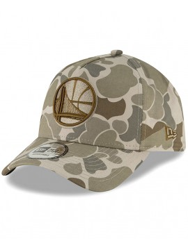 Casquette New Era A-Frame Golden State Warriors Camouflage Clair