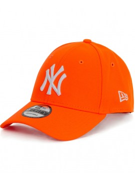New Era 9Forty NY Yankees Neon Orange - NY Fluo