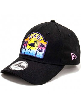 New Era - Casquette USA Patch Miami Magic City 9Forty
