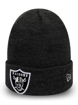 New Era - Bonnet Oakland Raiders Essential Gris Chiné