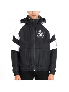 New Era - NFL Oakland Raiders Puffer Jacket Black