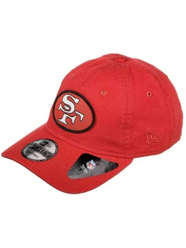 New Era - Casquette 9Forty San Francisco 49ers Patch Rouge