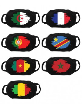 Face Mask Custom With Flag