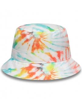 Bob New Era Tie Dye Multi-couleurs Blanc