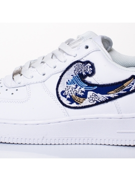 Remix Line Custom - Nike Air Force 1 The Great Wave Custom