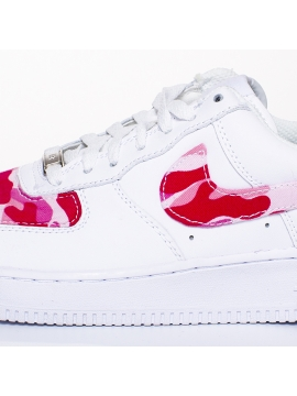 Remix Line Custom - Nike Air Force 1 Camouflage Custom Rose
