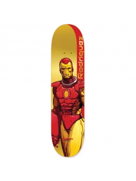 Primitive Skateboard x Marvel - Rodriguez Iron Man Deck